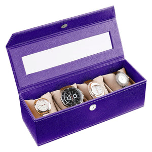 Eco Friendly Watch Box ( 4 Watches With Pillow)