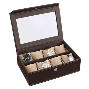 Watch Box ( 8 Watches With Pillow) Plain Colour