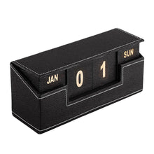 Load image into Gallery viewer, Ecoleatherette Perpetual Calender