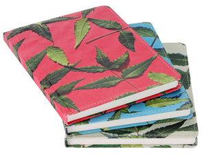 Leaf Pattern Hard Cover Notebook