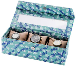 3 Watch Box ( With Pillow) Sea Shell