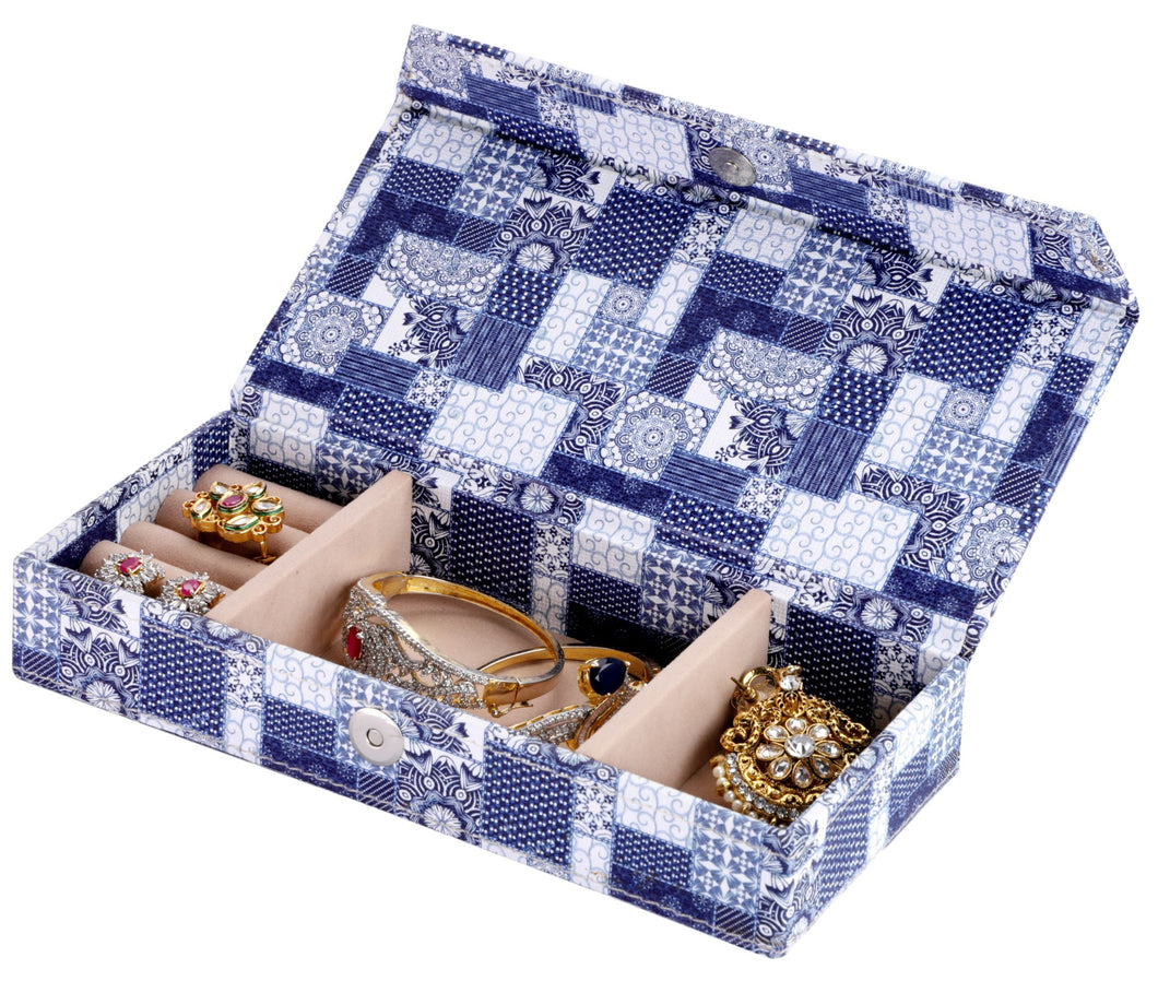 Travel Jewellery Box Patches Pattern