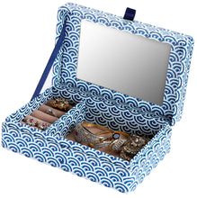 Load image into Gallery viewer, Jewellery Box cascading water pattern with mirror