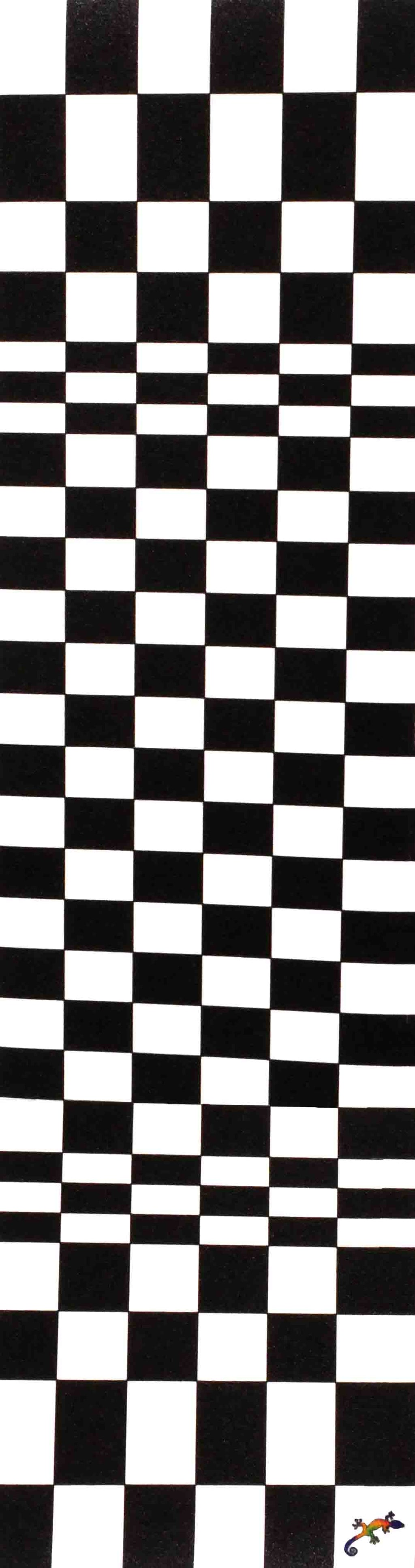 "Checked pattern  - Grip Tape 9""x33"""