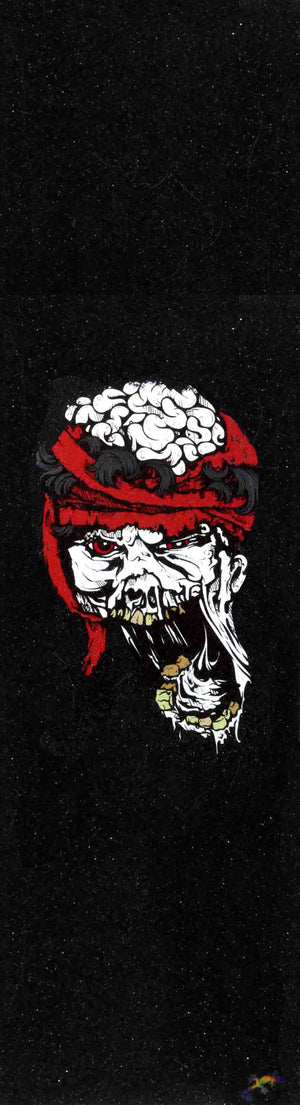 "Zombie head - Grip Tape 9""x33"""