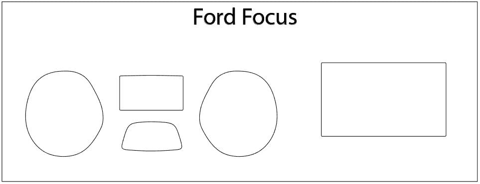 Ford Focus Screen ProTech Kit