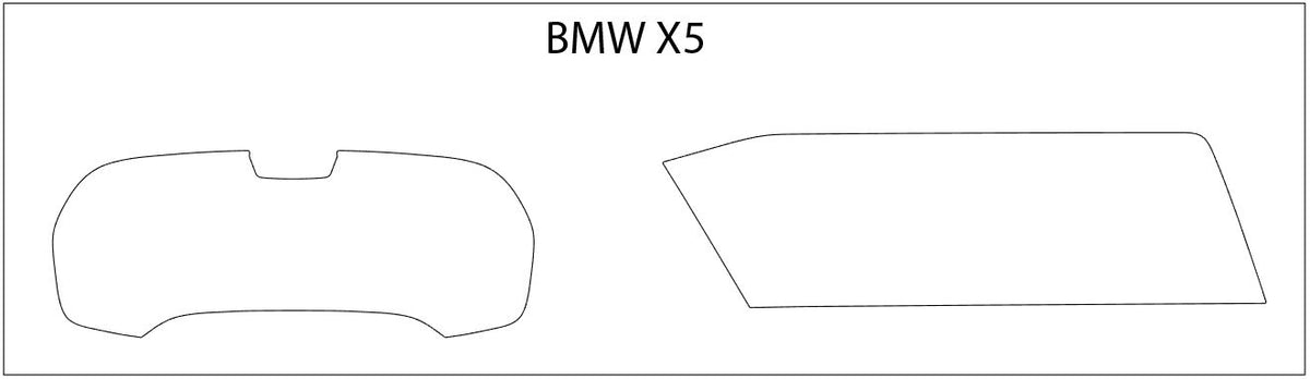 BMW X5 Screen ProTech Kit
