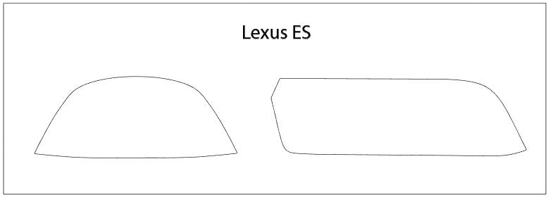 Lexus ES Screen ProTech Kit