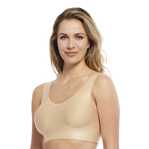 Carole Martin Seamless Low Back Molded Comfort Bra