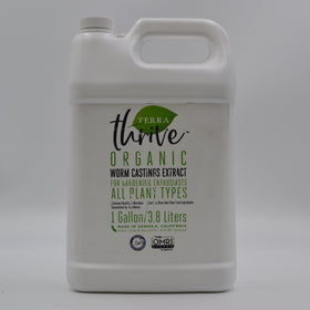 Worm Castings- Terra Thrive- 1 Gallon
