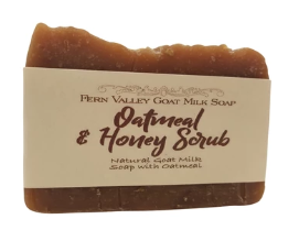 Oatmeal & Honey Scrub Bar Soap