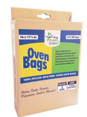 Oven Bags- 25 Pack