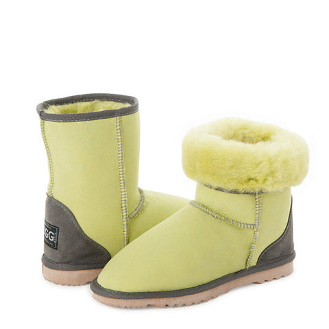 Lemon Lime Short UGG Boots