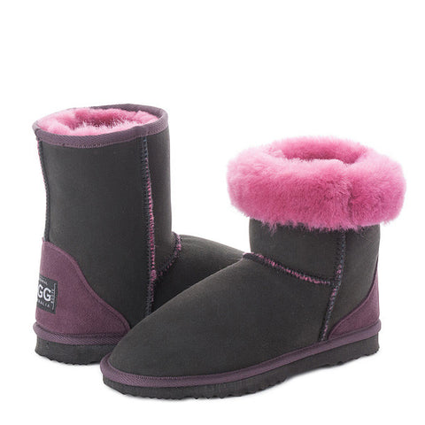 Black Rose Short UGG Boots