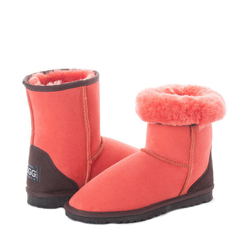 Red Clay Short UGG Boots