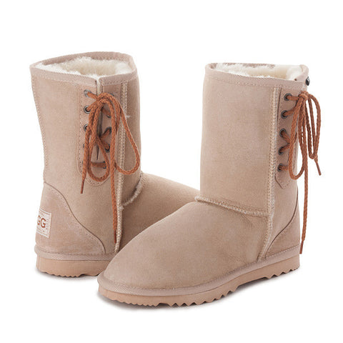 SAND SHORT LACE UP UGG BOOTS sale