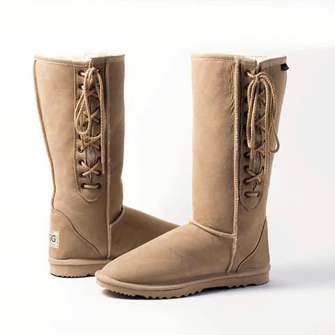 Sale Lace Up Ugg Boots