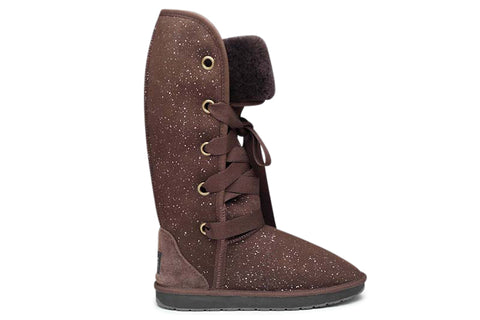Choc Galaxy Texas Tall UGG Boots - Limited Edition