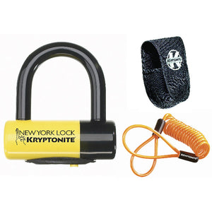 New York Liberty Disc Lock  Yellow Sold Secure Gold