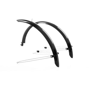 Commute full length mudguards 16 x 50mm, black