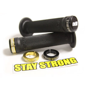 Stay Strong BMX Lock On Grips