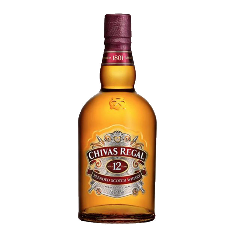 Chivas Regal 12 750cc.