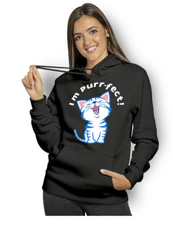 Pull chaton femme