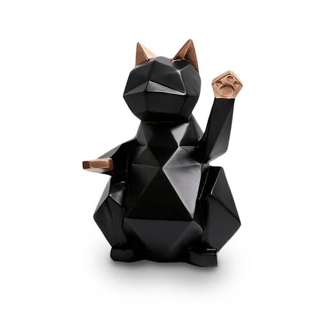 Statuette chat design