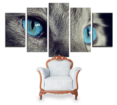 Tableau yeux chat