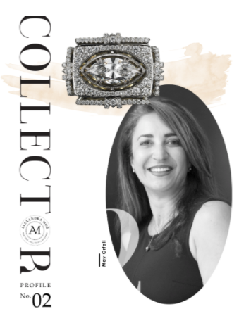 COLLECTORS PROFILE STORY- MAY OFRALI