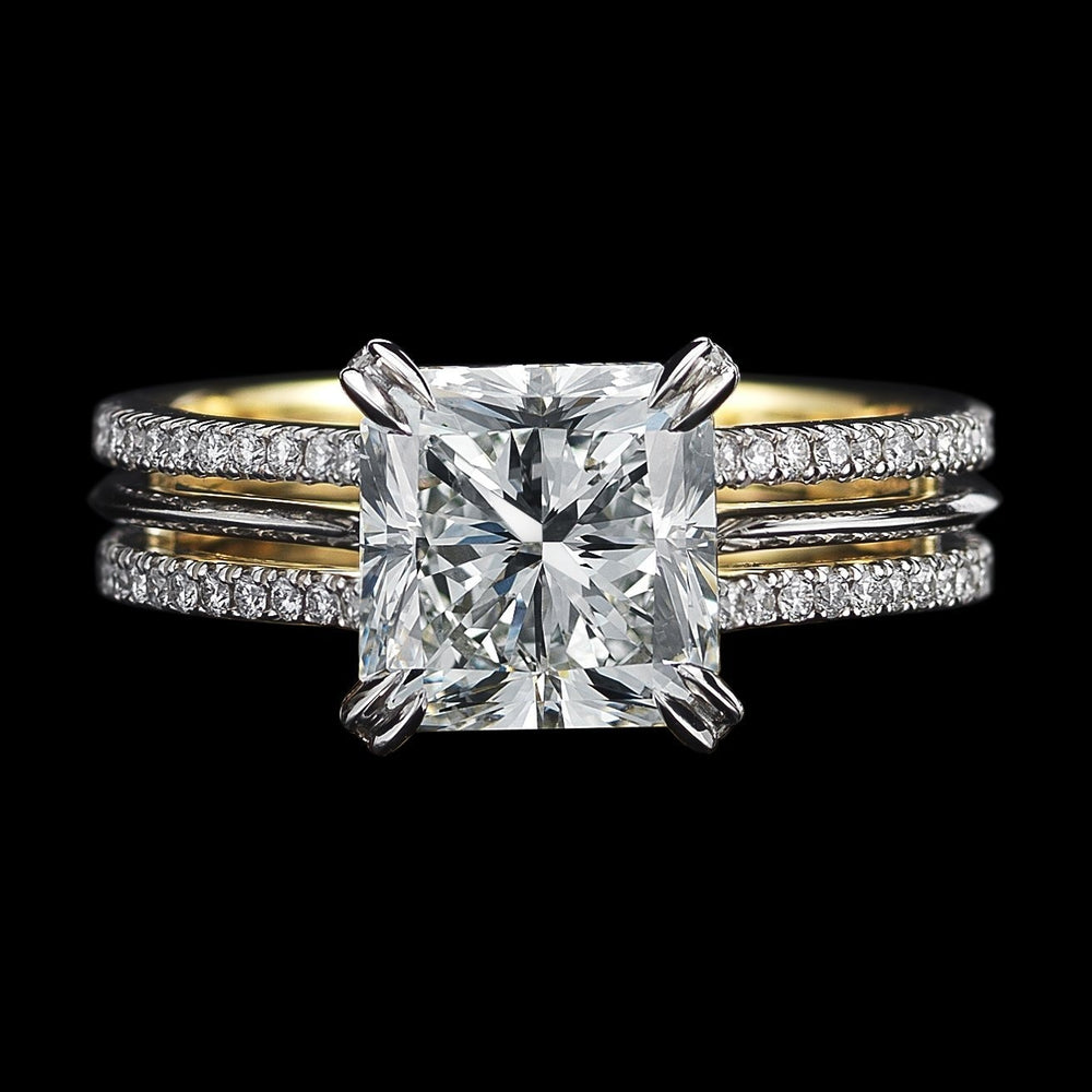 Load image into Gallery viewer, Radiant-Cut Diamond Ring - Alexandra Mor online