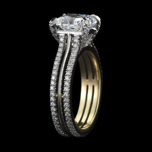 Load image into Gallery viewer, Radiant-Cut Diamond Ring