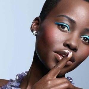 Lupita Nyongo As Seen Wearing Large Platinum Diamond Snowflake Earrings - Alexandra Mor online