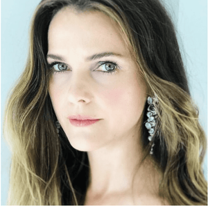 Keri Russel As Seen Wearing Diamond & Moonstone Long Snowflake Earrings - Alexandra Mor online