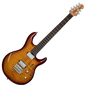Music Man Sterling LK100 Luke Flame Maple Hazel Burst