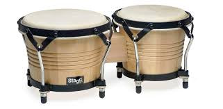 Stagg Wooden Bongos 7.5