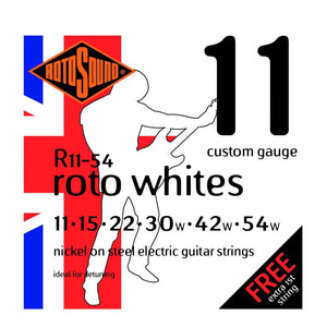 Roto Whites 11-54w Electric Strings