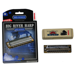 Hohner 590 Big River Harp Harmonica, Key Of C