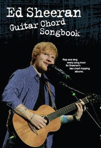 Ed Sheeran Guitar Chord Songbook