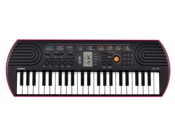 Casio SA-78 Electronic Keyboard