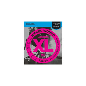EXL150 D'addario EXL150 Nickel Wound 12-String 10-46 Electric Set
