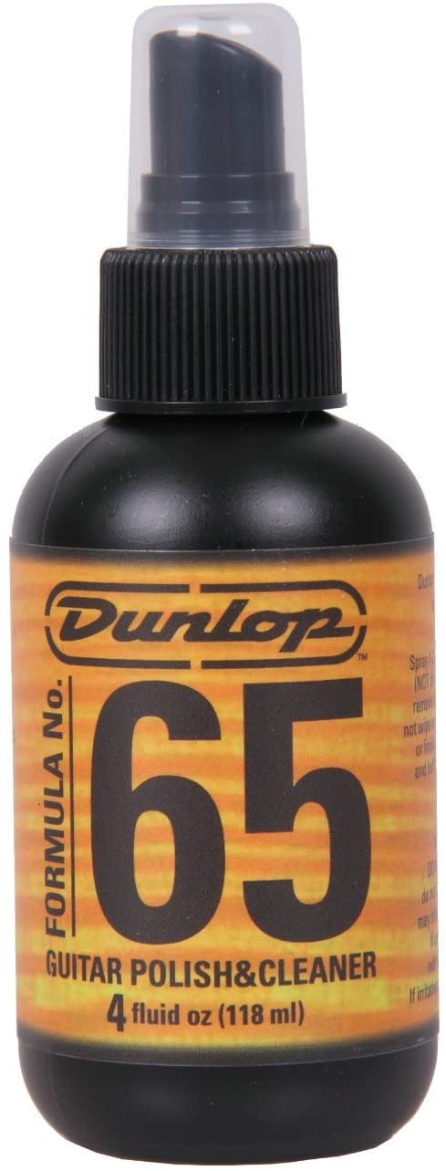 Dunlop 65 Guitar Polish & Cleaner 4oz
