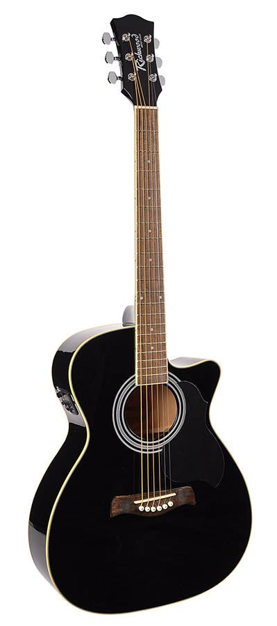 Richwood RA-12-CEBK  |  ARTIST SERIES ACOUSTIC GUITAR w/t Bag