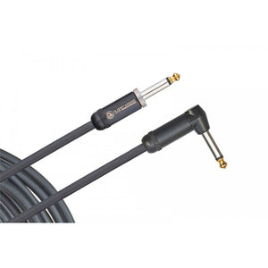 D'Addario American Stage Instrument Cable, Right to Straight, 15 feet