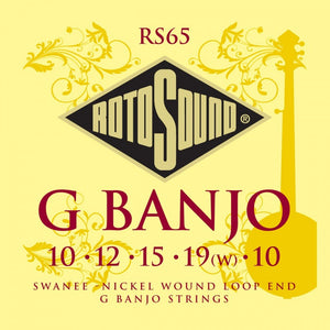 RS65 Rotosound Swanee Banjo Strings