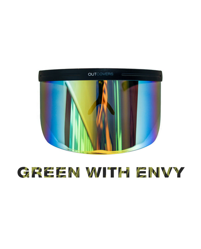 [READY STOCK] Sun Shield in Green With Envy