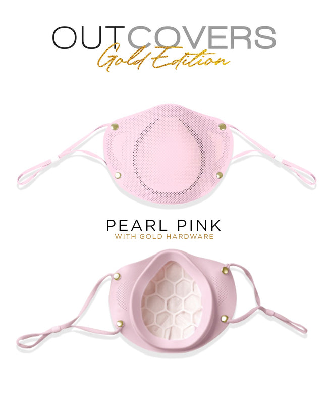 [READY STOCK] Outcovers KN95 Mask GOLD EDITION