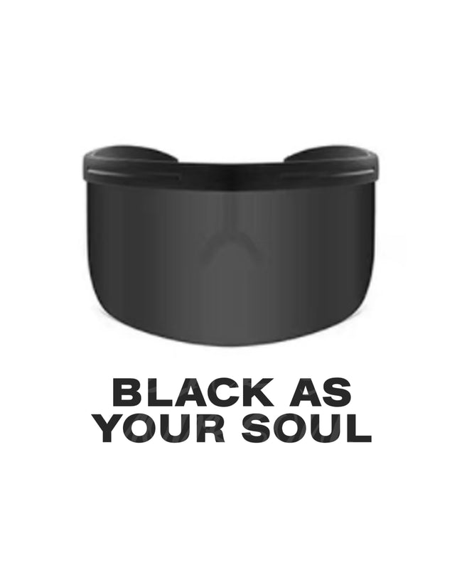 [READY STOCK] Sun Shield in Black As Your Soul