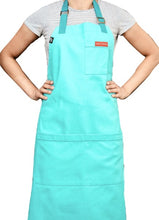 Load image into Gallery viewer, Turquoise Blue Ice Cream Apron