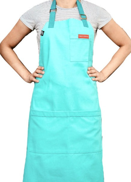 Turquoise Blue Ice Cream Apron